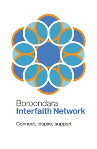 Boroondara Interfaith Network Logo - Connect, inspire, support